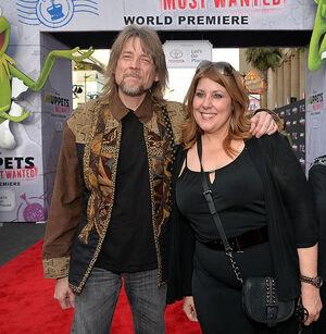 Debbie McClellan and Steve Whitmire at MMW premiere