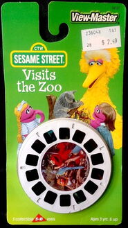 View-master sesame visits the zoo