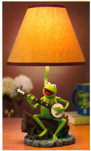 Disney store catalog 2005 kermit lamp