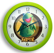 Clock wall kermit
