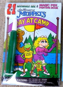 Lee publications 1990 day at camp invisible ink magic pen book 1