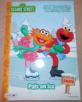 Bendon 2016 coloring books pals on ice