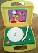 Sesame Street record player (Daylin)