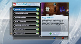 Disney Infinity Muppet levels March 2014
