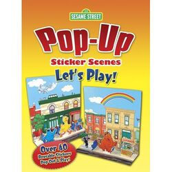 Pop up sticker scenes lets play