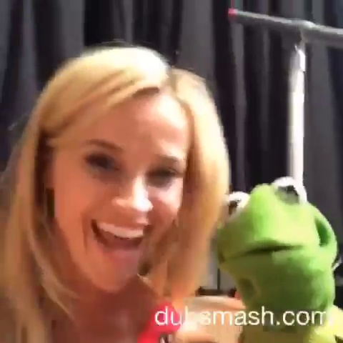 Reese and Kermit