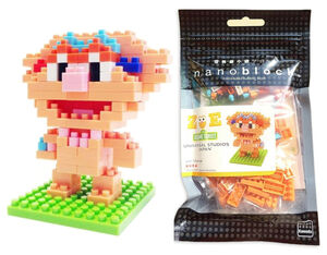 Sesame Nanoblocks Zoe package