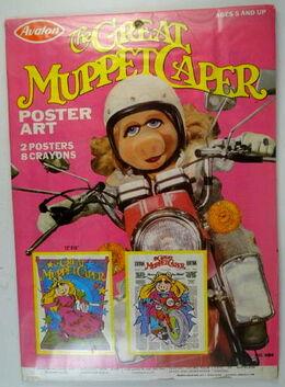 Avalon 1981 great muppet caper poster art set 1
