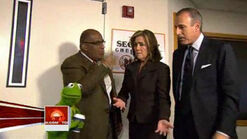 Today Kermit and the hosts