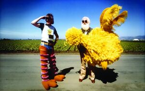 Big bird caroll spinney kermit love