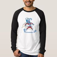 Zazzle gonzo superhero shirt