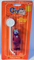 Fisher-price stick puppets scooter gonzo