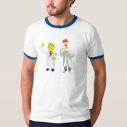 Zazzle bunsen beaker thinking shirt