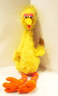 Child guidance 1973 big bird stuffed puppet plush 1
