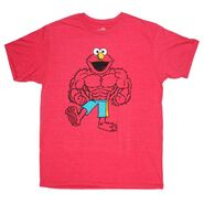 Muscle t-shirt elmo