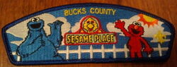 Sesame place patch 2005 bucks county council jamboree 4