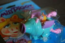 Tomy wind-up flip-flopper swinetrek 2