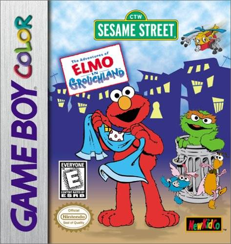 the adventures of elmo in grouchland game boy color