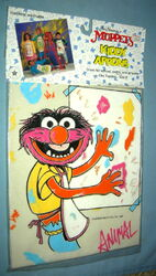 Innovo 1989 kiddy aprons art crafts muppet 6