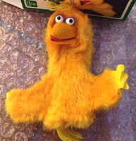 Questor child guidance puppets big bird 1977
