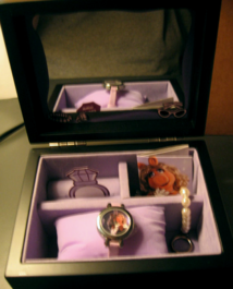 Fossil miss piggy watch set 7