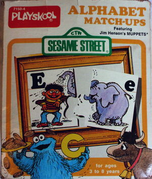 Playskool 1977 alphabet match-ups 1