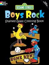 Dover boys rock coloring book