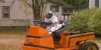 Gonzo's lawnmower