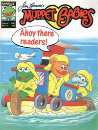 Muppet babies weekly uk 3 jan 1987