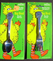 Demand marketing big bird silverware 1