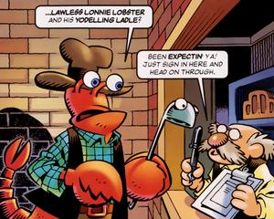 Lawless Lonnie Lobster