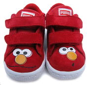 Puma toddlers suede sneakers elmo