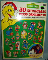 Sesame Street Christmas ornament kits (Avalon)