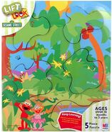 Mm milton bradley -lift&look-junglediscovery-puzzle