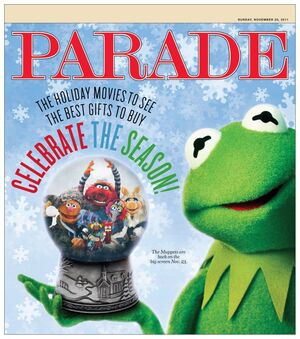 Parademagazine cover