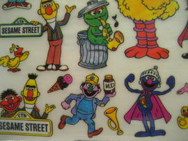 Colorforms 1986 rub n play transfers 3