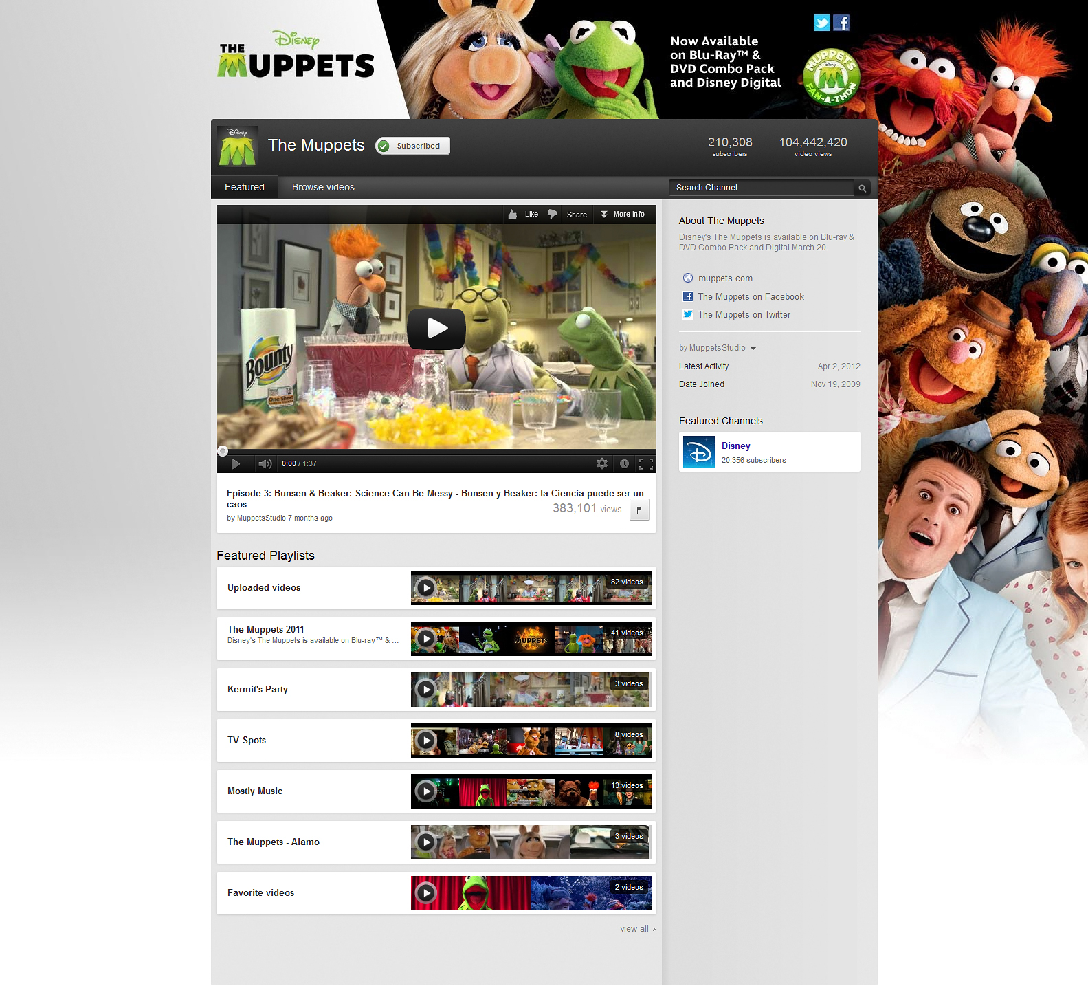 YouTube | Muppet Wiki | Fandom powered by Wikia