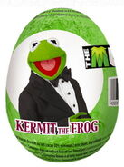 Kermit chocolate egg
