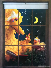 American publishing 1980 poster big bird