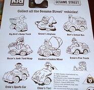 Kid dimension die-cast car package