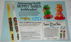 Stampos 1985 oral-b babies