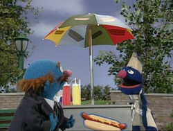 Grover hotdog