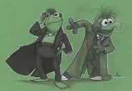 Amy Mebberson Capt Kermit 10th Gonzo