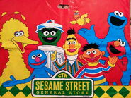 Sesame street general store bag bb