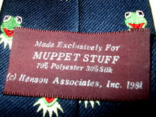 Muppet stuff exclusive 1981 kermit tie 4