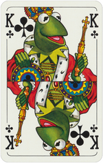 1978 playing cards King Clubs