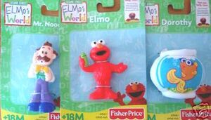 FisherPriceElmosWorldFigurineSet