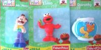 Elmo's World figurines (Fisher-Price)