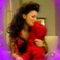 Kiss Fran Drescher Elmo