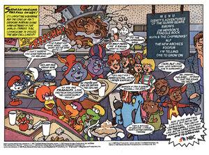 Fraggle Rock Animated.NBC Ad
